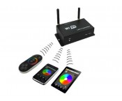 WIFI LED Controller - RGB - Touch-Funk & WiFi Steuergerät -