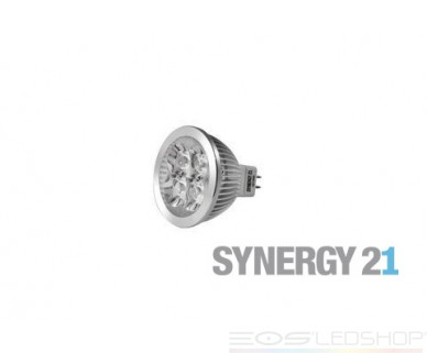 Synergy21 - MR16 4x1W - GU5,3 - 4W - 320lm - kaltweiß - 15°