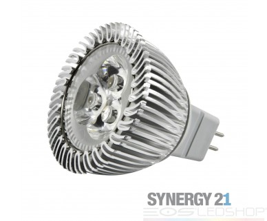 Synergy21 - MR16 4x1W - GU5,3 - 3W - 240lm - kaltweiß - 30°