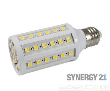 Synergy21 - LED Corn light - E27 - 8,1W - 645lm - warmweiß - 360° - weiß