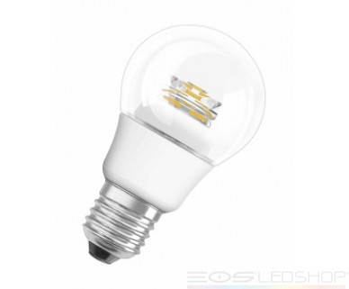 Osram - PARATHOM® CLASSIC A - E27 - 5W - 470lm - Warmweiß/2700K - Clear sparkling -
