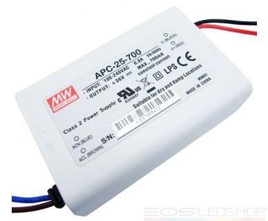 Mean Well - APC-25-700 - 25,2 W - 700mA - Nicht dimmbar -