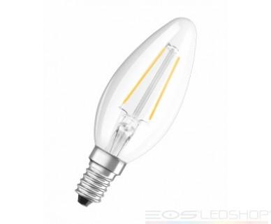 Osram - PARATHOM® Retrofit CLASSIC B - E14 - 2W - 230lm - Warmweiß/2700K - Filament