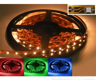 LED-Strip 3528 - RGB - 12V - 24W - 5m - IP 20