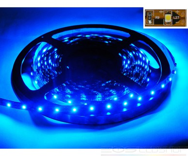 LED-Strip 3528 - blau 465nm - 12V - 12W - 5m - IP 20