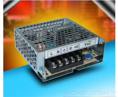 LS-Series Power Supply - 25W - 12V - 2,1A - IP 20