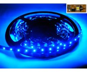 LED-Strip 3528 - blau 465nm - 12V - 24W - 5m - IP 20