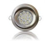 Opteon Downlight - TD36 - 45° schwenkbar - warmweiß - 15W - 580lm - 60° - Alu. Brushed -